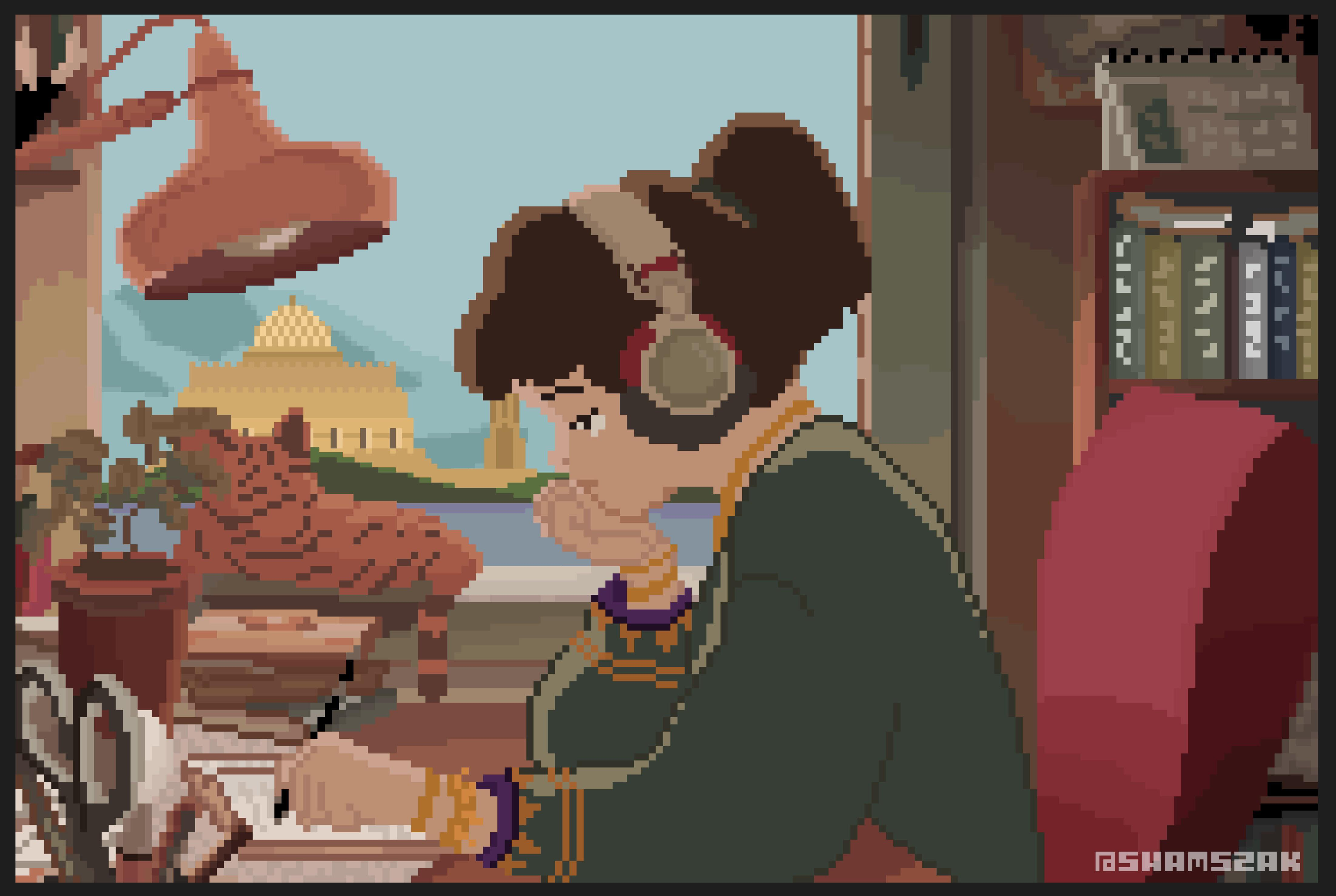 Lo-Fi Girl Oman - عمان - شمس زكواني