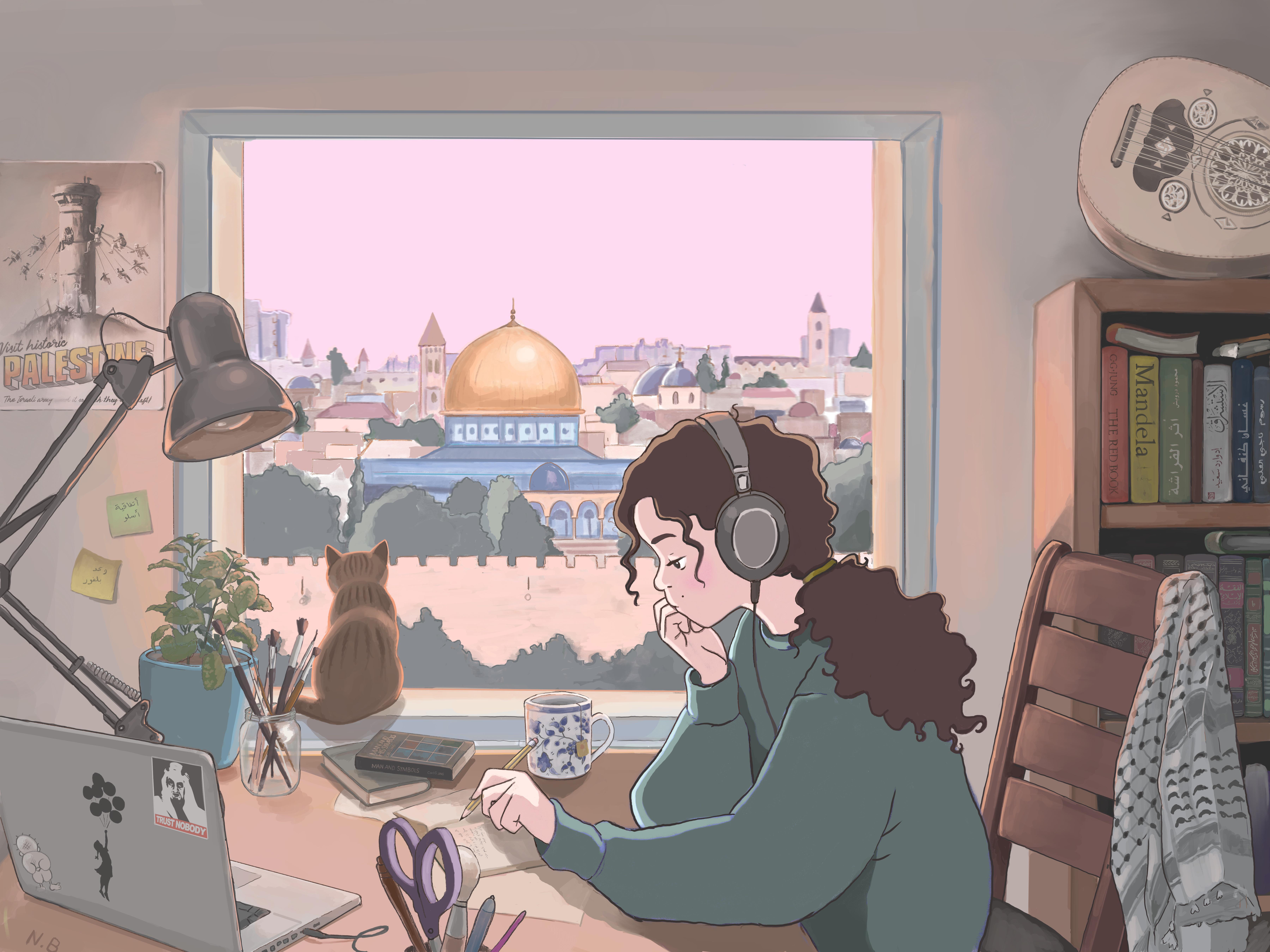 Lo-Fi Girl Palestine - فلسطين